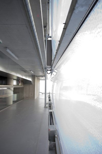 Designer Philippe Starck Architect Stefano Robotti Construction: ROXIM  Urban Calligraphy Simon Silaidis / Brush & Acrylics